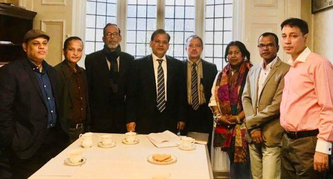 লন্ডনে বাংলাদেশ বইমেলাকে সফল করতে বাংলাদেশ হাইকমিশনের সর্বাত্মক সহযোগিতার আশ্বাস