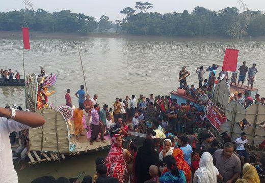 বালাগঞ্জে শান্তিপূর্ণভাবে প্রতিমা বিসর্জনের মধ্য দিয়ে শেষ হয়েছে শারদীয় দুর্গোৎসব