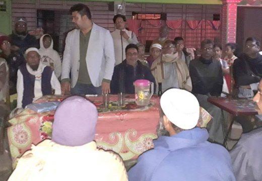বালাগঞ্জের জামালপুরে নৌকার সমর্থনে উঠান বৈঠক অনুষ্ঠিত