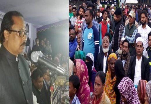 নৌকা বিজয়ী করলে সিলেট-৩ কে উন্নয়নের মডেল হিসেবে গড়ে তোলবো : সামাদ চৌধুরী এমপি