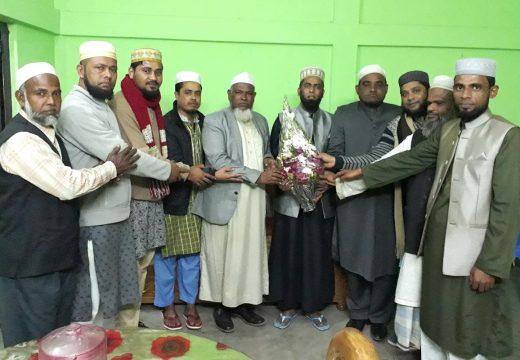 প্রবাসী আল ইসলাহ নেতা মাওলানা আব্দুল হামিদ আল ফয়সলকে বিদায় সংবর্ধনা প্রদান