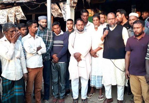 নশিওরপুর বাজারে আনারস মার্কার সমর্থনে মোহাম্মদ গোলাম রব্বানীর গণসংযোগ ও পথসভা অনুষ্ঠিত
