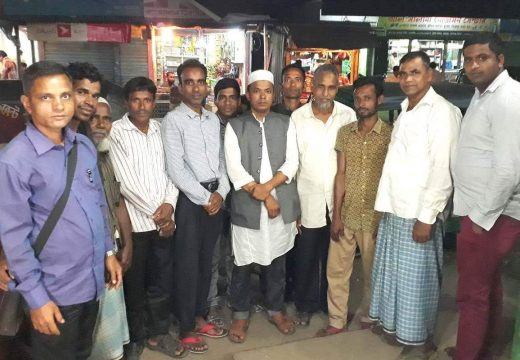 বালাগঞ্জের সর্বস্তরের নাগরিকদের সাথে ভাইস চেয়ারম্যান সামস্ এর কুশল বিনিময়