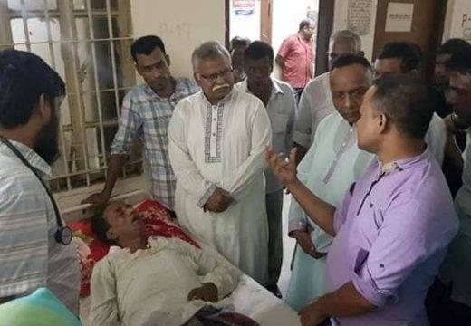 পূর্ব পৈলনপুর ইউপি চেয়ারম্যান আব্দুল মতিন 'আইসিইউ'তে : বাস থেকে সংজ্ঞাহীন অবস্থায় উদ্ধার