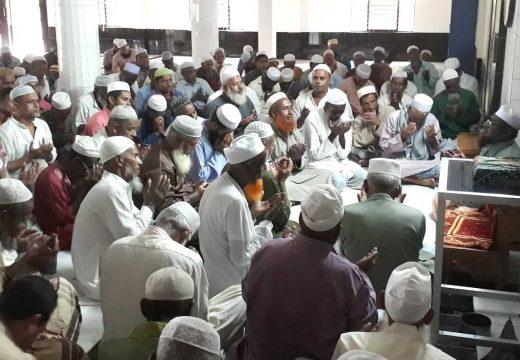 এরশাদের মাগফেরাত কামনায় দেওয়ান বাজারে জাপার মিলাদ মাহফিল অনুষ্ঠিত
