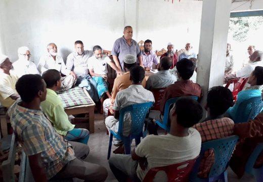 বালাগঞ্জে কেএসবি যুব কল্যাণ পরিষদের কমিটি পুনর্গঠন