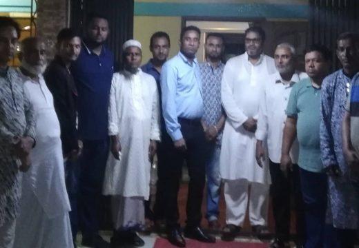প্রবাসী আ.লীগ নেতা মতিউর রহমান শাহিন ও আব্দুল কালামের সাথে মতবিনিময় সভা অনুষ্ঠিত