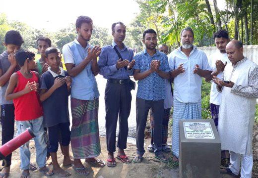 বালাগঞ্জের তালতলা মুক্তিযোদ্ধা ফখর উদ্দিন সড়ক পাকাকরণ উদ্বোধন