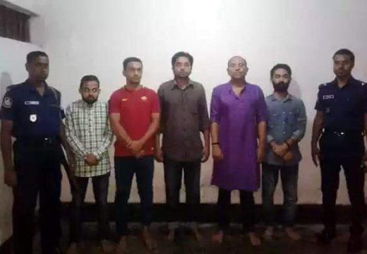 ফেঞ্চুগঞ্জে ৫ ছাত্রদল নেতা গ্রেফতার : উপজেলা বিএনপির প্রতিবাদ