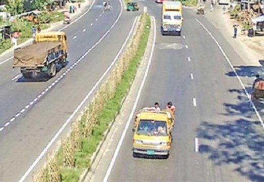 ঢাকা-চট্টগ্রাম-সিলেট মহাসড়কে যান চলাচল শুরু