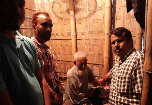 গহরপুর প্রবাসী মানব কল্যাণ পরিষদ ইউএই -এর অনুদান প্রদান
