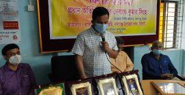 বালাগঞ্জে শিক্ষা কর্মকর্তাকে বিদায় সংবর্ধনা প্রদান