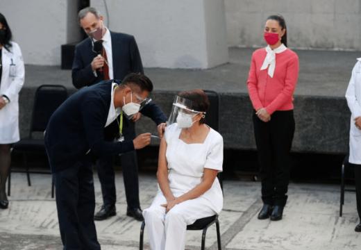 মেক্সিকোতে করোনাভাইরাস প্রতিরোধে টিকাদান কর্মসূচি শুরু