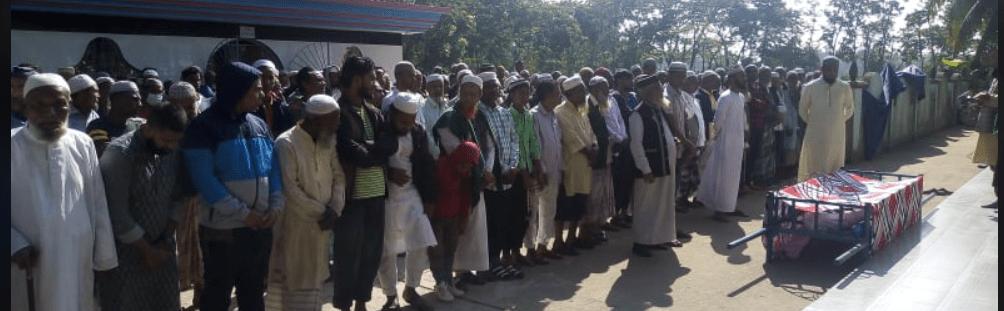 বালাগঞ্জে জাপা নেতা হুসেন আহমদ হুশিয়ারের মাতৃবিয়োগ: দাফন সম্পন্ন