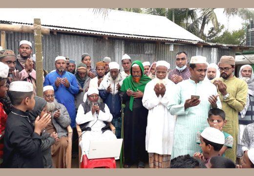 কলুমা জামে মসজিদ পুনঃনির্মাণ কাজের উদ্বোধন