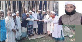 বালাগঞ্জের মসজিদে মাওলানা দিলওয়ার হোসাইনের অনুদান প্রদান