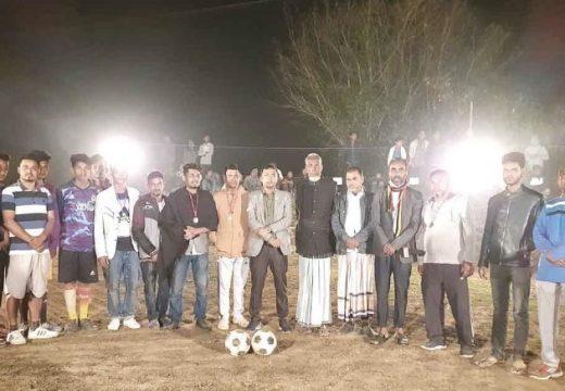 বালাগঞ্জে কলুমা নাইট মিনি ফুটবল টুর্ণামেণ্ট উদ্বোধন