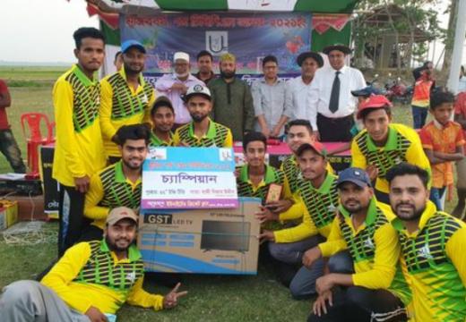 বালাগঞ্জে মুজিব বর্ষ ক্রিকেট টুর্ণামেন্ট 'টিবিপিএল'-এর ফাইনাল সম্পন্ন