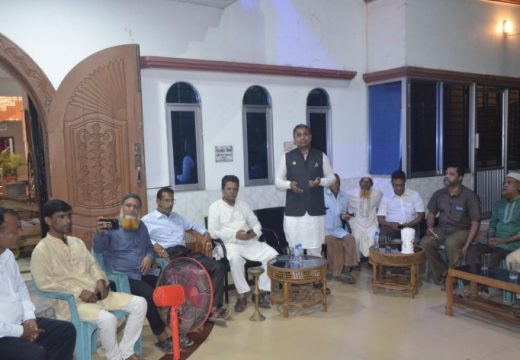 বালাগঞ্জের পশ্চিম গৌরীপুরে হাবিবুর রহমান হাবিবের মতবিনিময় ও উঠান বৈঠক