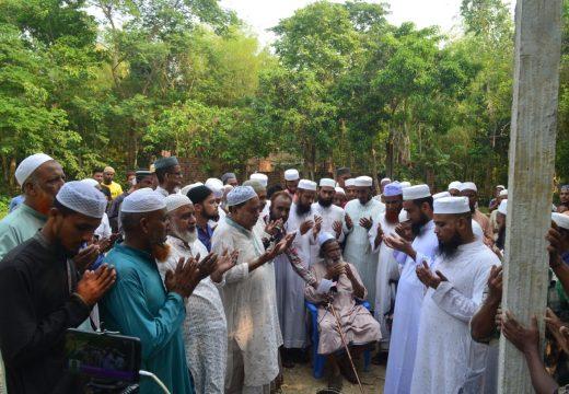 বালাগঞ্জে নবনির্মিত রতনপুর 'রওযাতুল উলুম মহিলা মাদ্রাসা'-এর ভিত্তিপ্রস্থর স্থাপন