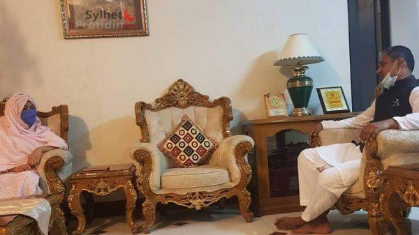 মরহুম এমপি সামাদ চৌধুরীর পরিবারের পাশে থাকবেন হাবিবুর রহমান হাবিব
