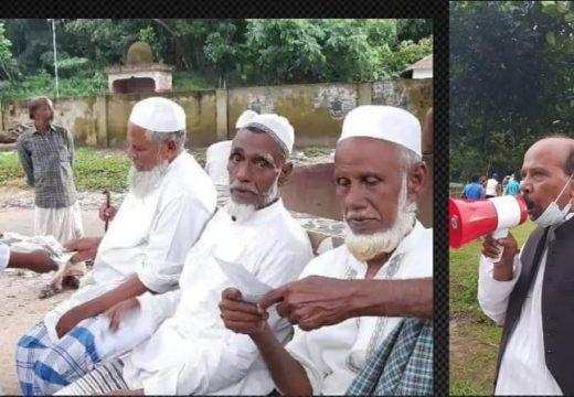 নৌকার সমর্থনে ফেঞ্চুগঞ্জে হাজী লেইছ চৌধুরী'র ব্যাপক গণসংযোগ