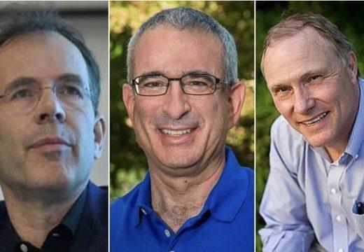 অর্থনীতিতে যৌথভাবে নোবেল পুরস্কার পেলেন তিনজন
